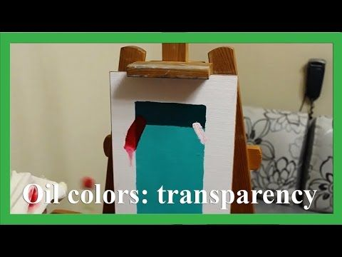 What is the difference between transparent and opaque oil colours, subtitles.  - artist Daniil Belov More on www.daniil-belov.com