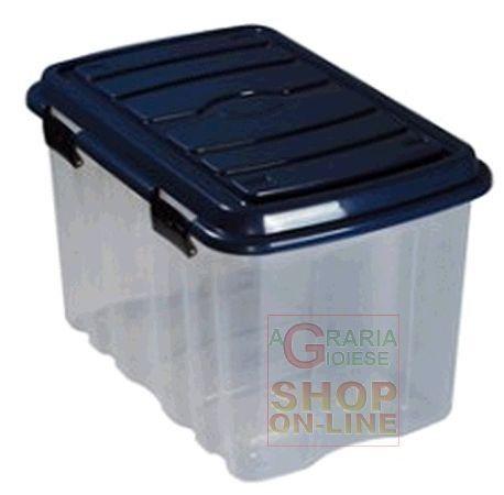 BOX CASSA IN PLASTICA CON COPERCHIO E RUOTE LT. 54 http://www.decariashop.it/casalinghi-home/2719-box-cassa-in-plastica-con-coperchio-e-ruote-lt-54.html