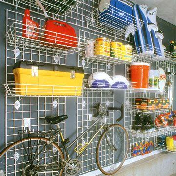 garage garage wall