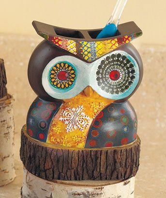 Owl Bathroom Decor From Abc Distributing