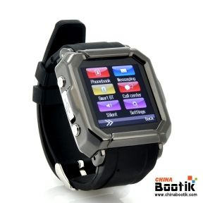 "Smart Watch + Watch Phone ""iradish"" - GSM Quad Band Calls, SMS + Phonebook Sync, Caller ID #smartphone #watchphone"