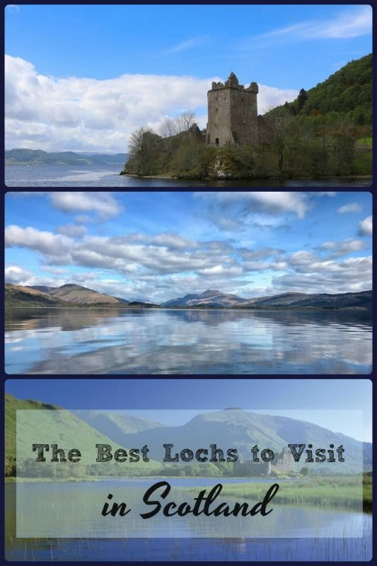 There may be over 31,000 lochs in Scotland, but these are the best ones to visit! #lochs #scotland #whattodoinscotland #highlandperthshireholidayhomes
