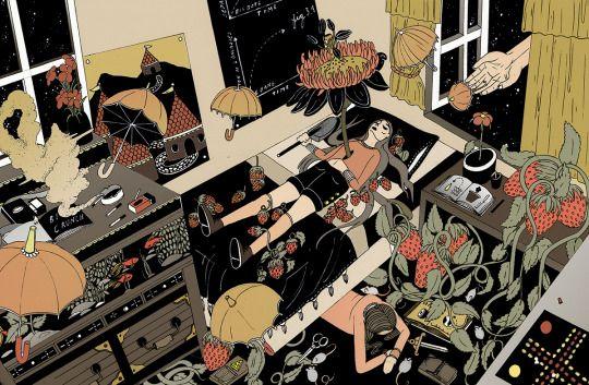 Stephanie Birdie Abdallah. Artists on tumblr.