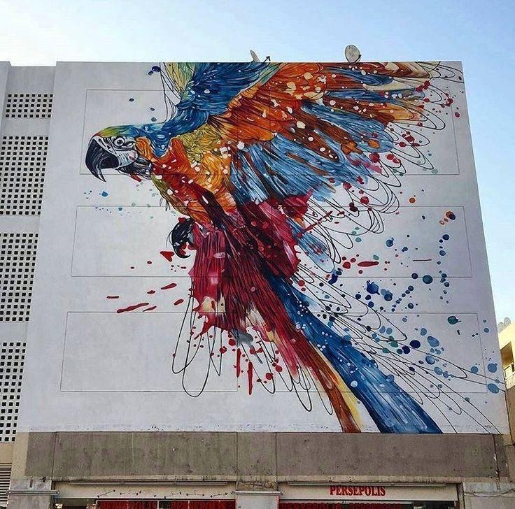 #Be{YOU}tiful  #UrbanArt/ #StreetArt by Katun & yumzone found in #Dubai!