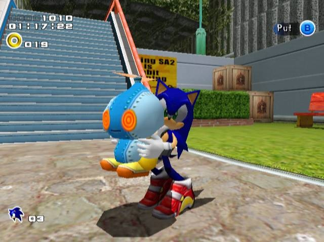 Sonic Adventure on SEGA Dreamcast