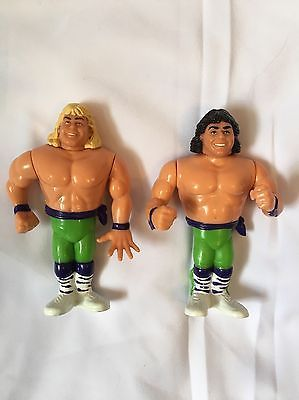 The Rockers Marty Jannetty Shawn Michaels 1991 Figures Hasbro Series 1 Tag Team