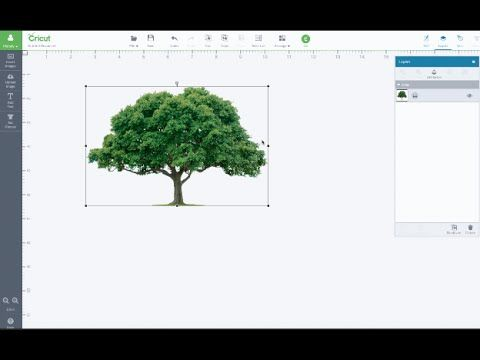 how to put computer image to cricut on youtube