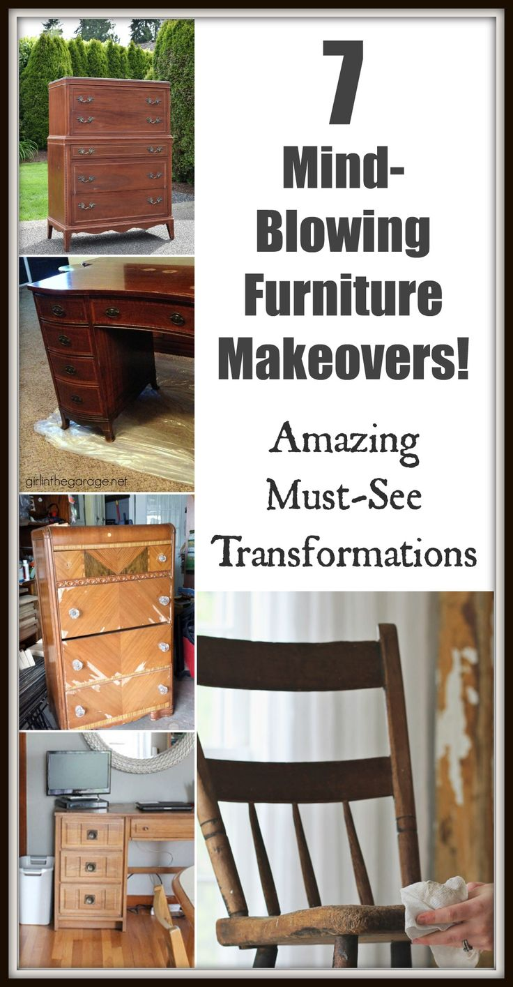 Marvelous 7 Mind Blowing Furniture Makeovers