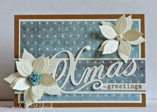 Wybrich used COL1339 from Marianne Design to make this lovely card