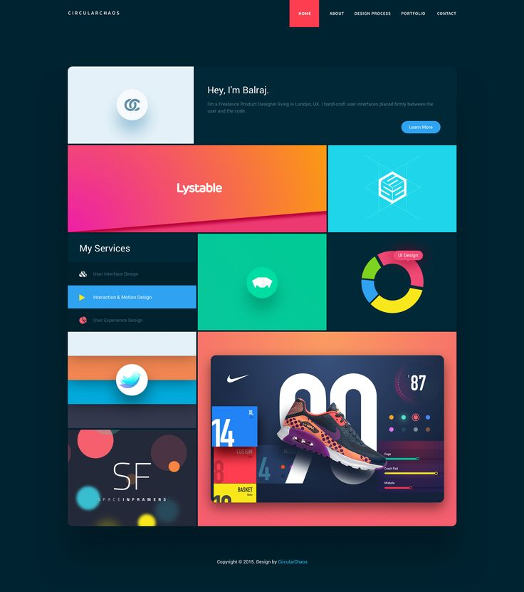 Balraj Chana is a product designer based in London, UK. With 8 years of experience, Balraj is exceptionally good in UI design, UX and Branding/Identity works. I must admit, reading about his design process was a delight to devour.
