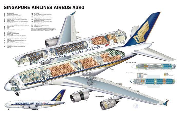 Airplane Cutaways