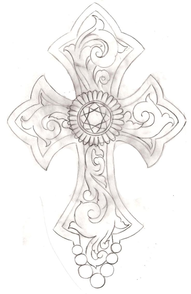 Cross Tattoo 2 by ~Metacharis on deviantART | Tattoos and ...