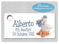 BA129T Etiqueta Detalle Bautizo