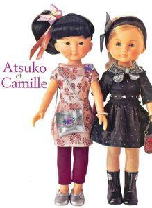 Modèles pour Atsuko et Camille  Marie-Claire Idées n° 87 - Novembre/Décembre 2011