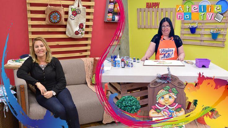 Ateliê na TV - Rede Brasil - 16.09.2016 - Priscila Muniz e Tânia Silva