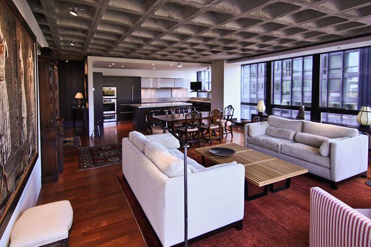 28 best coffer ceilings images on pinterest arquitetura for Design apartment zuffenhausen