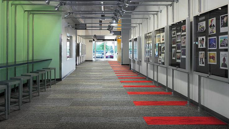 interface carpet - floor pattern