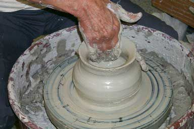 Making my own pottery