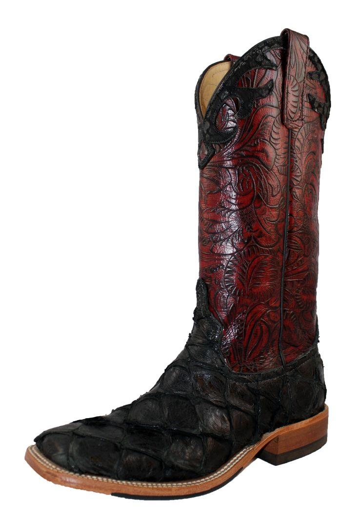 Anderson Bean Boots Black Big Bass 5404L