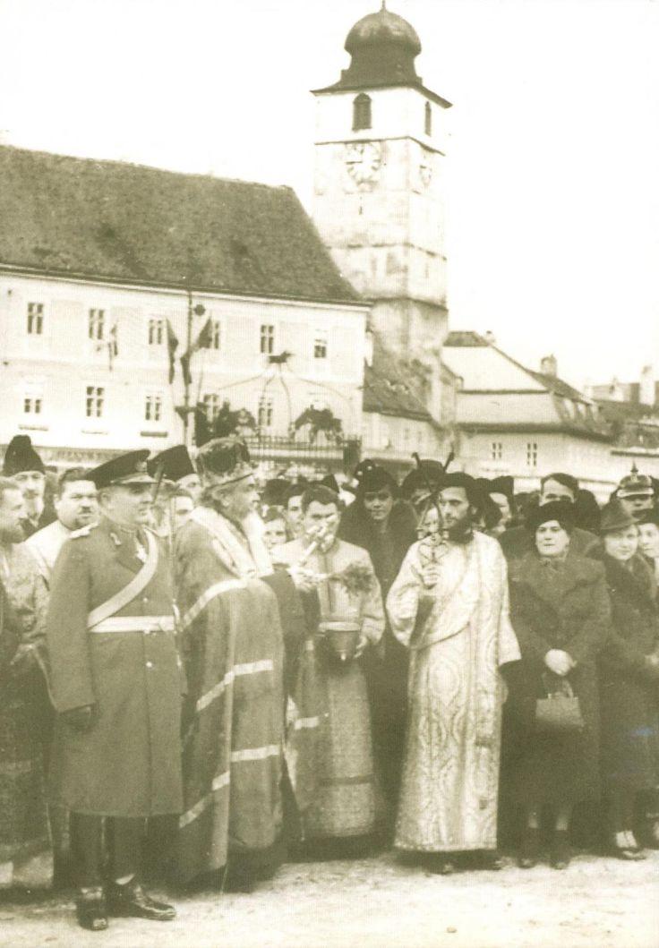 Părintele Arsenie pe când era diacon al Mitropolitului Nicolae Bălan