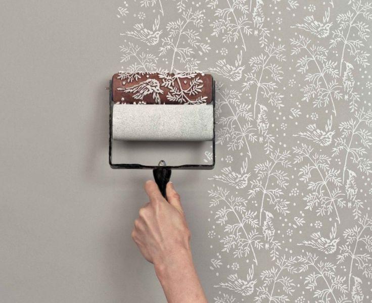 dekoratif desenli ev iç cephe duvar renkleri fikirleri ve önerileri 2016
