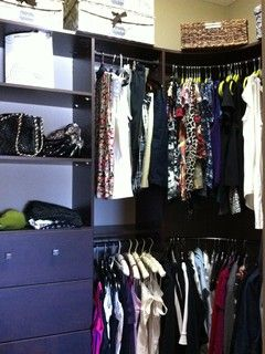 Closet on a Dime - small walk-in