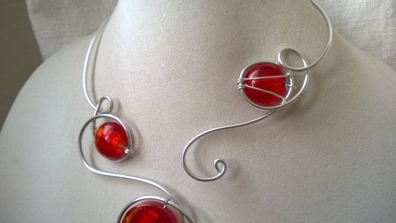 ♥ ♥ ♥ CREATIONS FOR RED LOVERS ♥ ♥ ♥ by BIJOUX LIBELLULE on Etsy