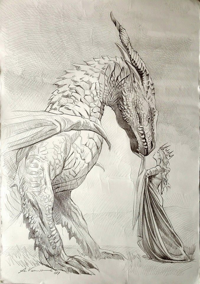 он дракон рисунки материал взят постороннего
