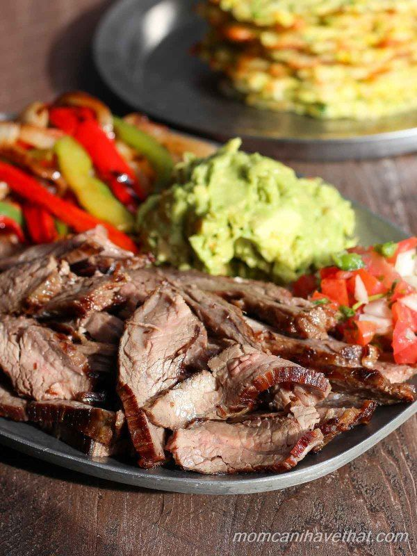 This traditional recipe for fajitas is easy and always the best. | low carb, gluten-free, dairy-free, paleo, keto, thm | momcanihavethat.com