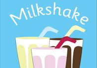 A decorative milkshake poster ideal to use in cafe role play scenarios in your school or early years setting.