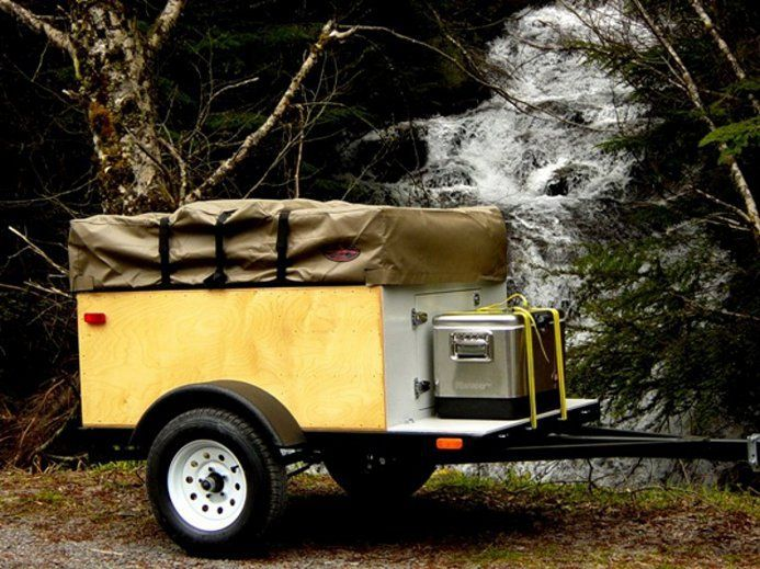 Let's Build Something - Explorer Box Build Manual Compact Camping Trailer