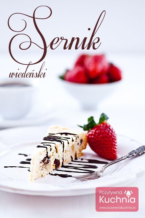 #przepis na sernik wiedeński z rodzynkami i skórką z pomarańczy  http://pozytywnakuchnia.pl/sernik-wiedenski/  #kuchnia #sernik #ciasto