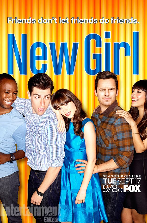 'New Girl' stars cuddle up for fall promo poster, behind-the-scenes video — FIRST LOOK | EW.com