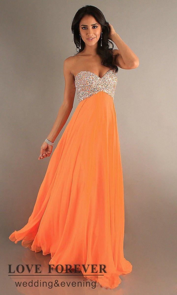 vestidos de novia color naranja - Google Search