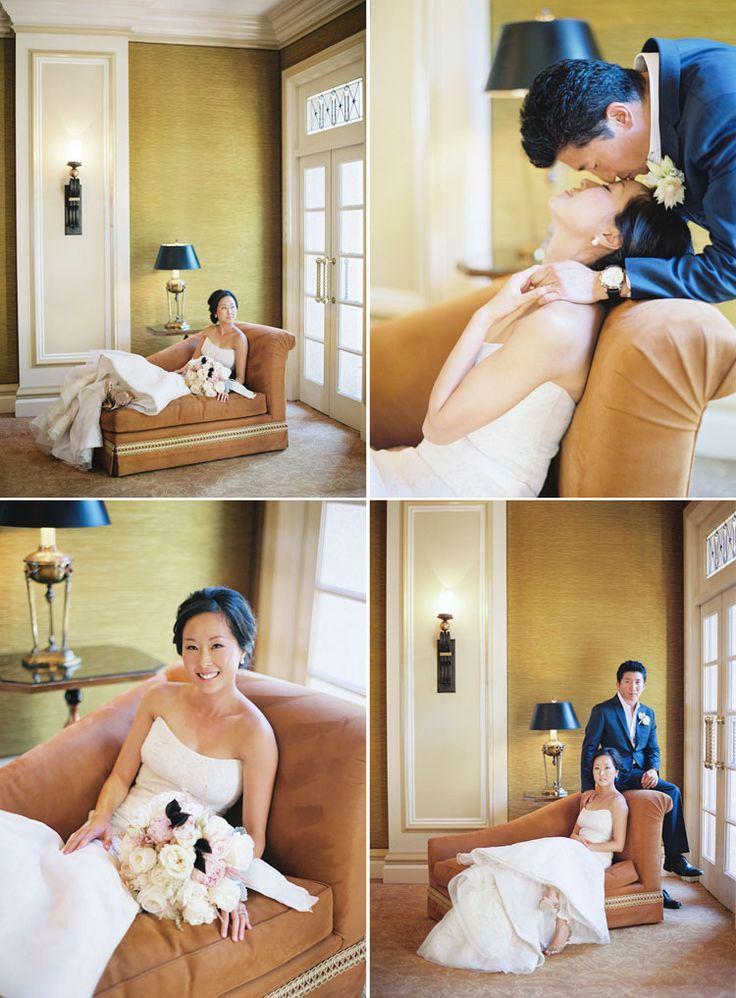 formal indoor wedding photos