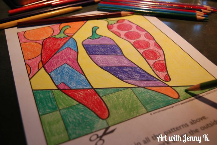 Fiesta time! Coloring sheets for Cinco de Mayo. 5 interactive and pattern filled designs included.