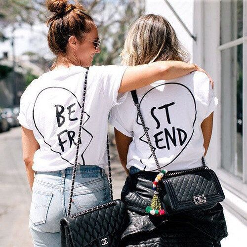 die besten 17 ideen zu best friend shirts auf pinterest beste freunde und bff. Black Bedroom Furniture Sets. Home Design Ideas