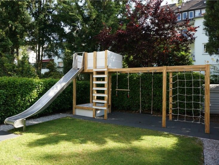 17 best ideas about plastic swing sets on pinterest kids for Diy play structures backyard