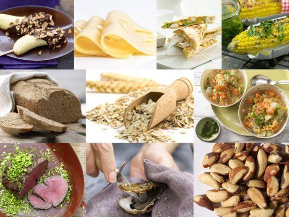 Zinkhaltige Lebensmittel: Zink ist ein wichtiges Spurenlement. Wir stellen Ihnen die 10 Lebensmittel vor, die besonders viel Zink enthalten.