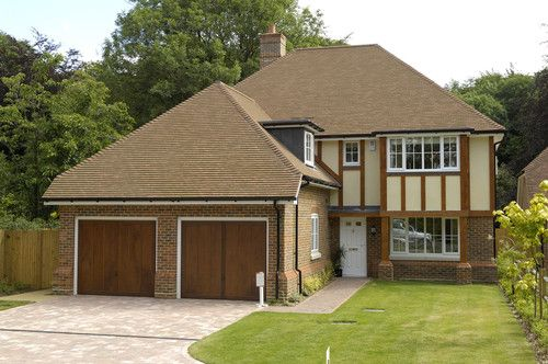 Premium roof tiles from Redland. Small concrete roof tiles perfect for a classic style home.