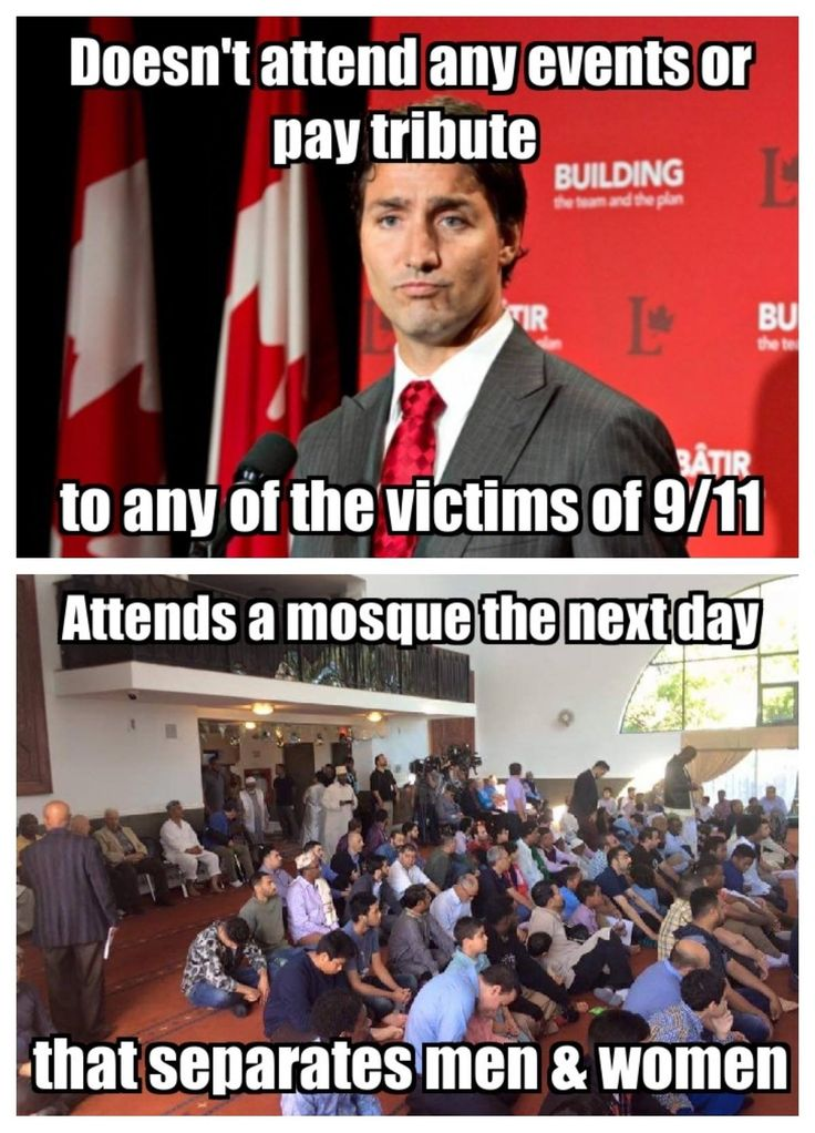 Another liberal loon-Justin Trudeau, Canada Prime Minister.  Liberalism IS a Mental Disorder.