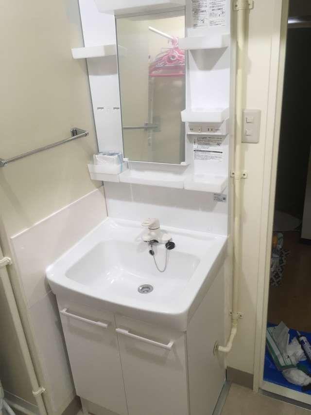 洗面台交換 洗面台 トイレ 洗面化粧台