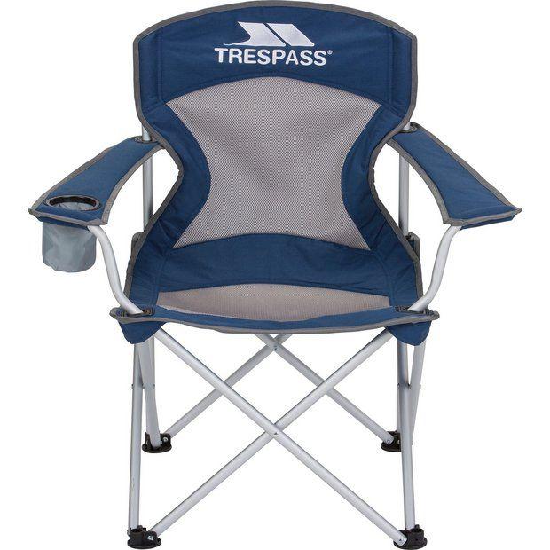 Buy Trespass Aluminium Deluxe Camping Chair Camping Chairs Argos Camping Chairs Outdoor Chairs Camping Chair