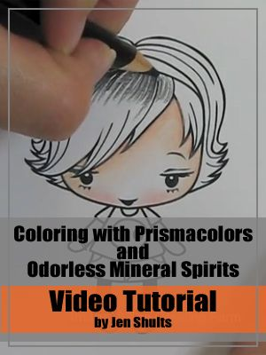 Prismacolor Basics Tutorial » deconstructing jen | handmade cards, sketches and tutorials