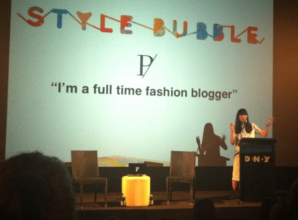 "During fashion week we had the chance to go along to one of Susie Bubbles highly anticipated ""Portable"" talks and this what happened. http://tinyurl.com/75g8k68"