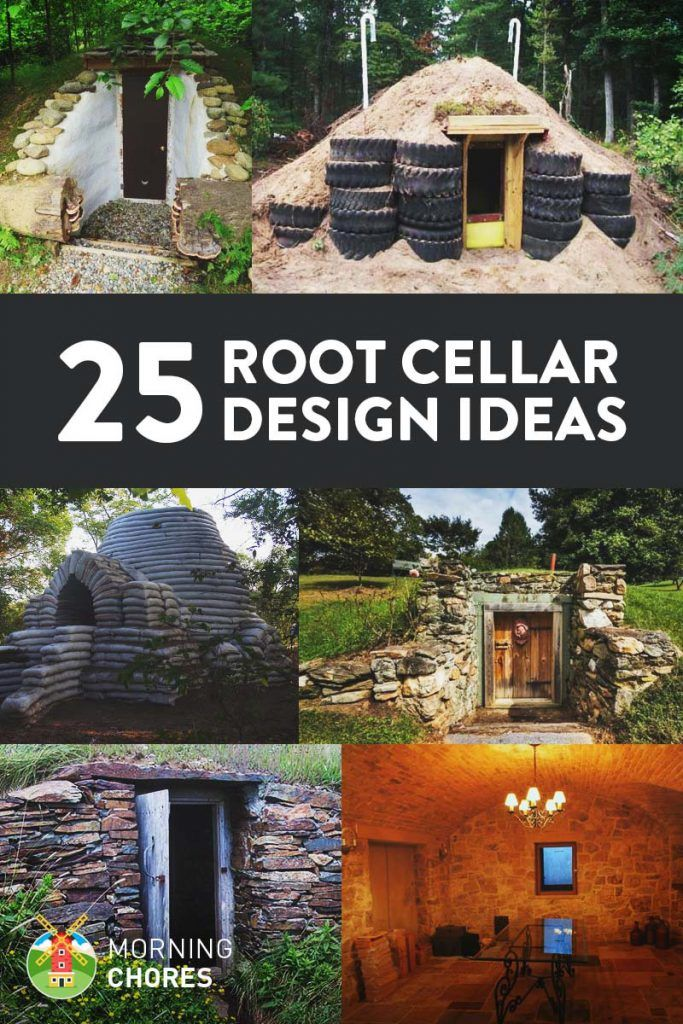 25 DIY Root Cellar Ideas to Keep Your Harvest Fresh - 25 great ideas to build a functional root cellar in the corner of your backyard. It is especially useful if you're living off the grid, don't want to use too much electricity, or in survival mode (and they can double as a shelter, too).