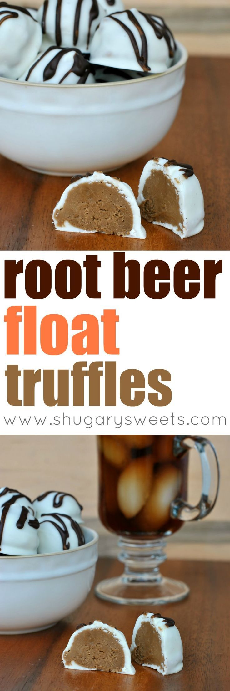 If you LOVE Root Beer floats then these delicious Root Beer Float TRUFFLES are for you. Well, not really FOR you, but the recipe is all YOURS.