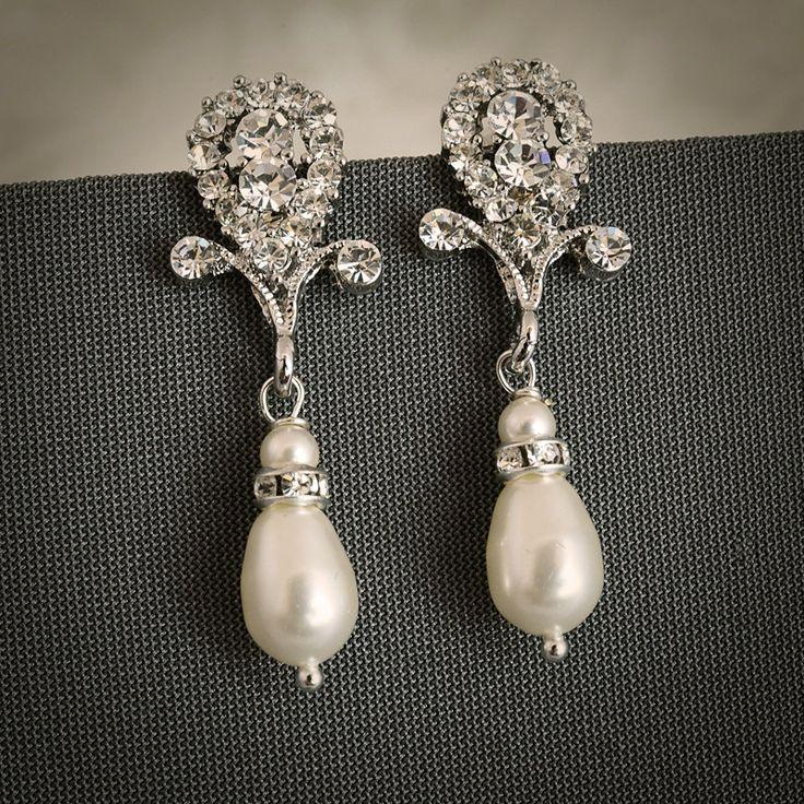 25 best ideas about Vintage wedding jewelry on Pinterest Bridal
