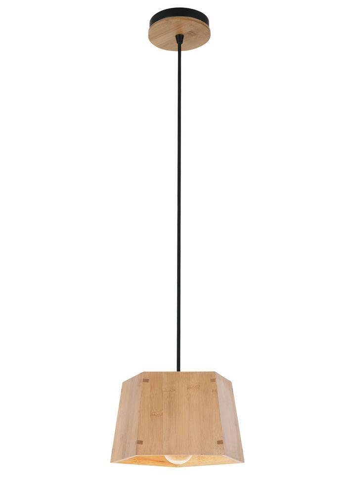 Grove Small Pendant in Bamboo