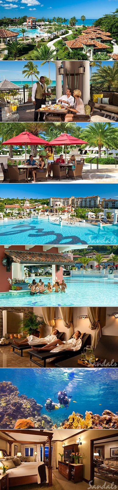 Honeymoon #2 ideas for next year!!! The Best Caribbean All Inclusive Resorts for Couples: Sandals Grande Antigua Resort and Spa